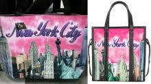 A New York Souvenir Company Is Suing Balenciaga For Copyright Infringement