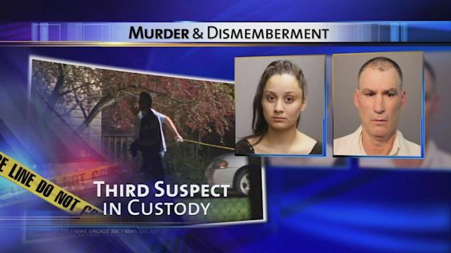 3rd person arrested with dad, teen after human remains found on SW Side