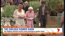 The Queen attends Chelsea Flower Show