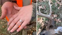 Couple shock with 'disgusting' engagement photos: 'Horrific'