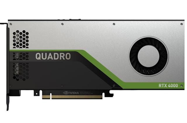 NVIDIA unveils the Quadro RTX 4000, its mainstream workstation GPU