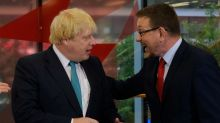 Boris Johnson branded a 'pillock' during on-air clash with Labour MP Andrew Gwynne