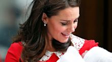 A New Photo of Kate Middleton Introducing Prince Louis to Prince Charles Was Released