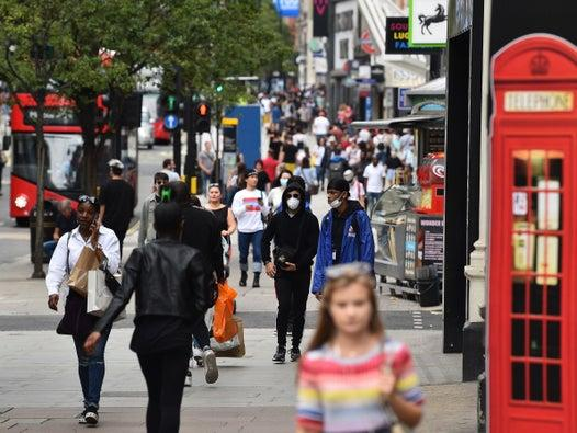 Tens of thousands return to England's high streets as non-essential shops reopen