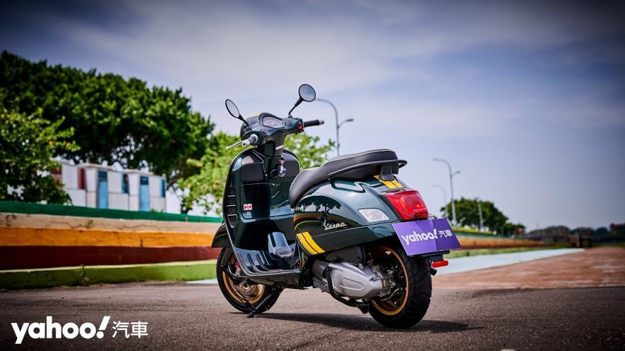 自由誠可貴的二輪時光機!2020 Vespa GTS 300 Racing Sixties城郊試駕! - 5