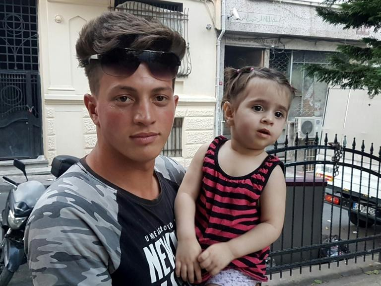 Algerian teen catches falling toddler in Turkey