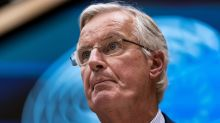 Pound volatile as Barnier says EU 'not in a position' to strike Brexit deal