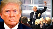 'What's with @FoxNews?': Trump fumes after Bernie Sanders town hall