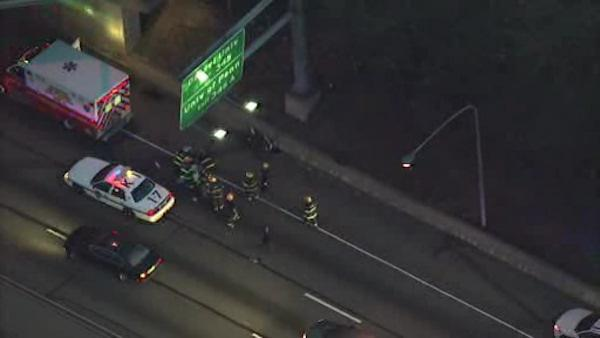 Motorcyclist killed in Schuylkill Expressway crash