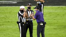 Refs' union to NFL: Take action against Ravens' John Harbaugh for his mask-less rant