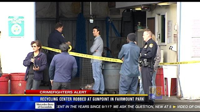 Recycling center robbed at gunpoint in Fairmount Park