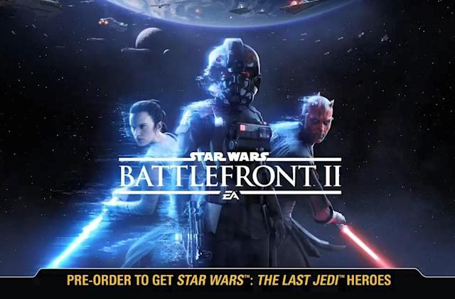 'Star Wars Battlefront II' trailer leaks out a few days early