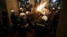 Thousands protest as Serbia reimposes virus curfew