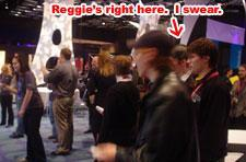 MIGS06: Reggie keepin' it real on the show floor