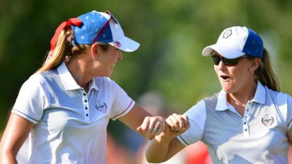 Solheim Cup: Europe in need of miracle comeback as US take five-point lead