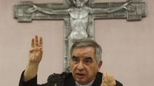 Mujer cercana a cardenal, detenida en caso de corrupción