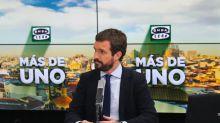 """No es la primera vez que Casado asegura que al Rey """"lo votamos los españoles"""""""