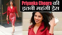 Priyanka Chopra's red hot look is worth a whopping Rs 2.80 lakh