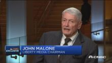 Malone: Disney in middle of unique content 'food fight'