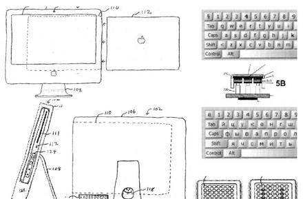 Apple patents a Maximus-alike keyboard, iMac MacBook dock