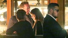 Dakota Johnson and Chris Martin are all smiles on Malibu dinner date