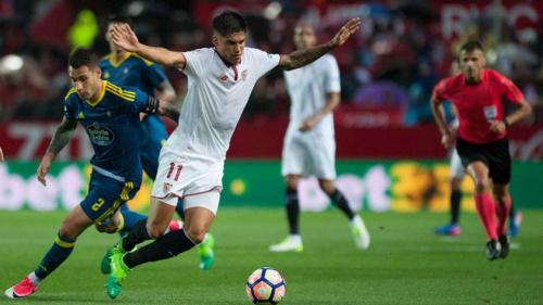 Sevilla passa pelo Celta e volta a encostar no Atlético de Madrid