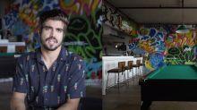 """Casa inusitada de Caio Castro é """"cancelada"""" nas redes sociais: """"Brega"""""""