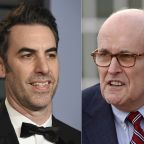 Giuliani shown in hotel bedroom scene in new 'Borat' film