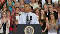 Obama Embraces Campaign Mode in Overtime Push