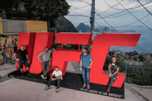 Ação social oferece ingressos para público assistir pesagem do UFC 212