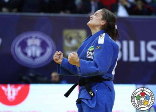Judô: Brasil conquista dois ouro no segundo dia do Grand Prix de Tbilisi