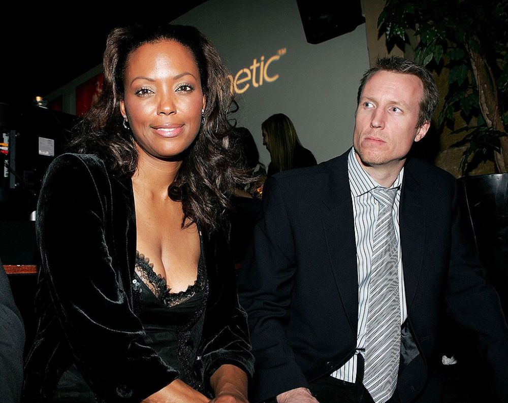 Aisha Tyler and Jeff Tietjens pictured in 2006 (Photo: Getty Images)