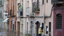 Tempête Gloria: le bilan grimpe à 11 morts en Espagne, quatre personnes toujours portées disparues