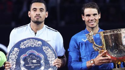 Kyrgios doubles down with new Nadal-Djokovic dig