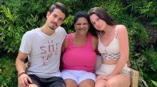 """Claudia Raia lamenta morte de babá dos filhos. """"Vírus maldito"""", diz Enzo"""