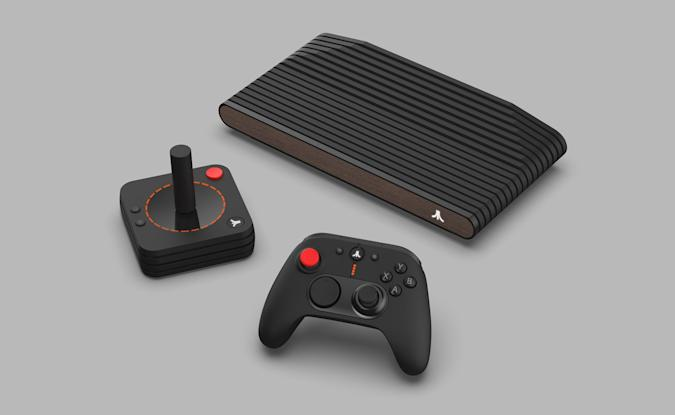 The Atari VCS rebooted console.