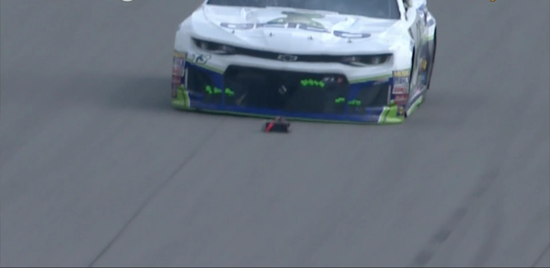 NASCAR still trying to identify source of debris hit by Ty Dillon at Michigan