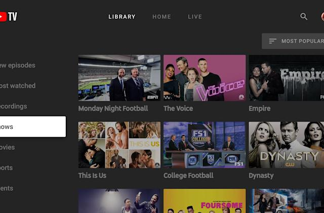 YouTube TV apps for Apple TV and Roku are coming in early 2018