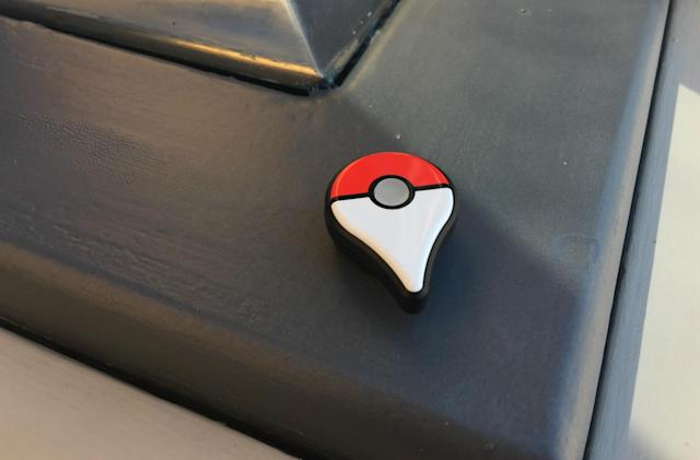 The Pokémon Go Plus bracelet is great for grinding
