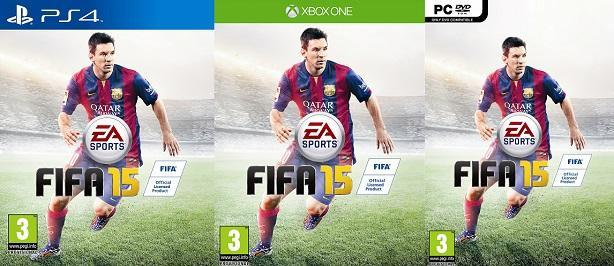 FIFA 15's global cover star just lost the World Cup