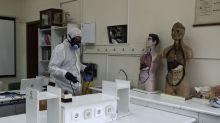 Stocks nosedive as coronavirus cases surpass 100K
