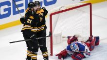 Zibanejad scores 2 in 3rd as Rangers edge Bruins 5-4