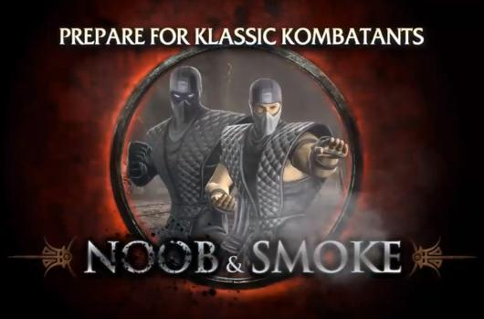 Free Klassic Noob and Smoke with Mortal Kombat Compatibility Pack 2