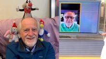 """Blogueirinho aos 87, Ary Fontoura defende o isolamento social: """"É a única arma que temos"""""""