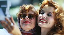 'Thelma & Louise' Reunion: Geena Davis, Susan Sarandon on Brad Pitt's Audition and That Shocking Ending