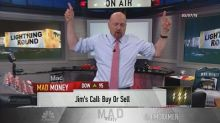 Cramer's lightning round: If you own stock in a gold comp...