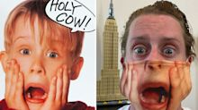 Macaulay Culkin recreates iconic 'Home Alone' poster with unique face mask