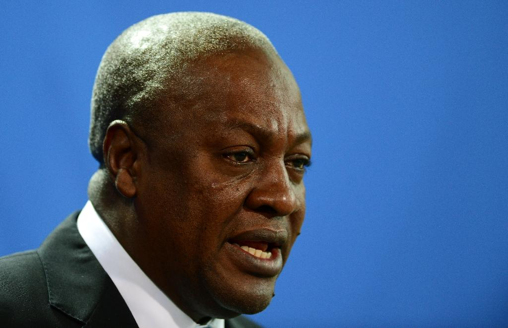 Ghana's President John Dramani Mahama took office in July 2012 and was previously vice president