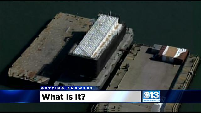 What Is The Google Barge And How Did It Get To Stockton?