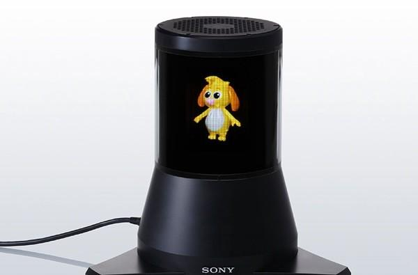 Sony's 360-degree 3D display prototype makes virtual pets more lifelike, expensive